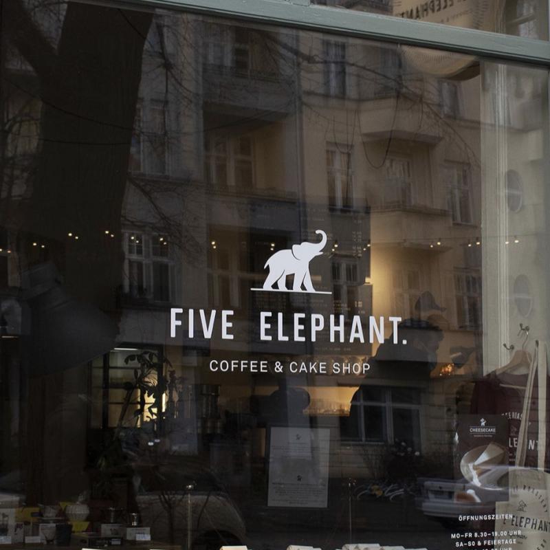 Tip: kavárna a pražírna Five Elephant v Berlíně