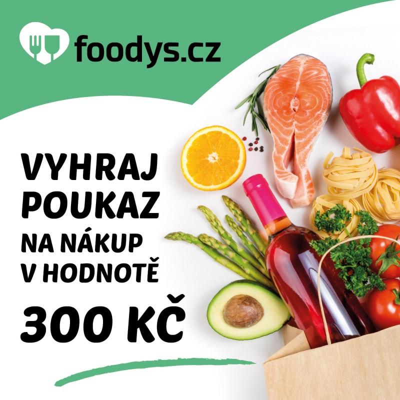 Zahrajte si o 300Kč poukázku na nákup surovin na Foodys.cz!